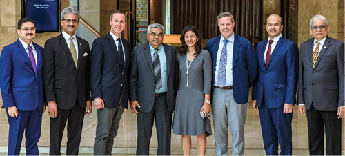 MARRIOTT GLOBAL CEO AT SHERATON GRAND BANGALORE HOTEL AT BRIGADE GATEWAY