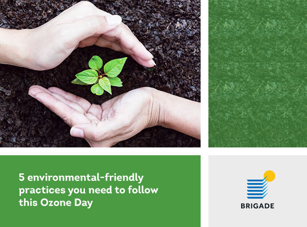 5 environmental-friendly practices you need to follow this Ozone Day