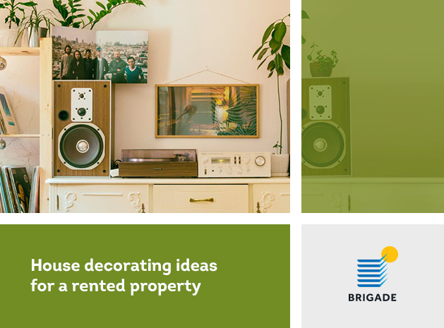 House decorating ideas for a rented property