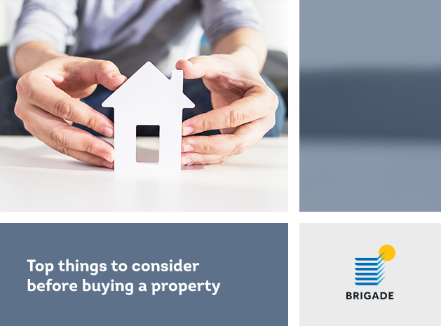Top things to consider before buying a property