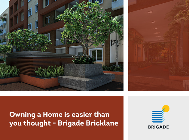 Owning a Home is easier than you thought - Brigade Bricklane