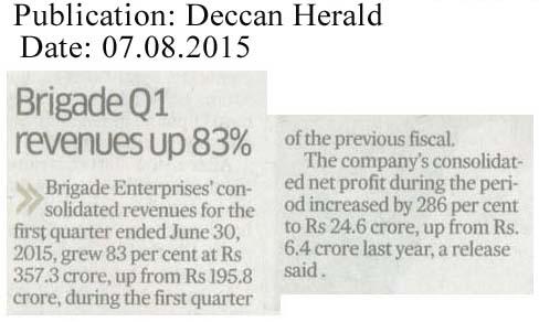 Brigade Q1 revenues up 83%