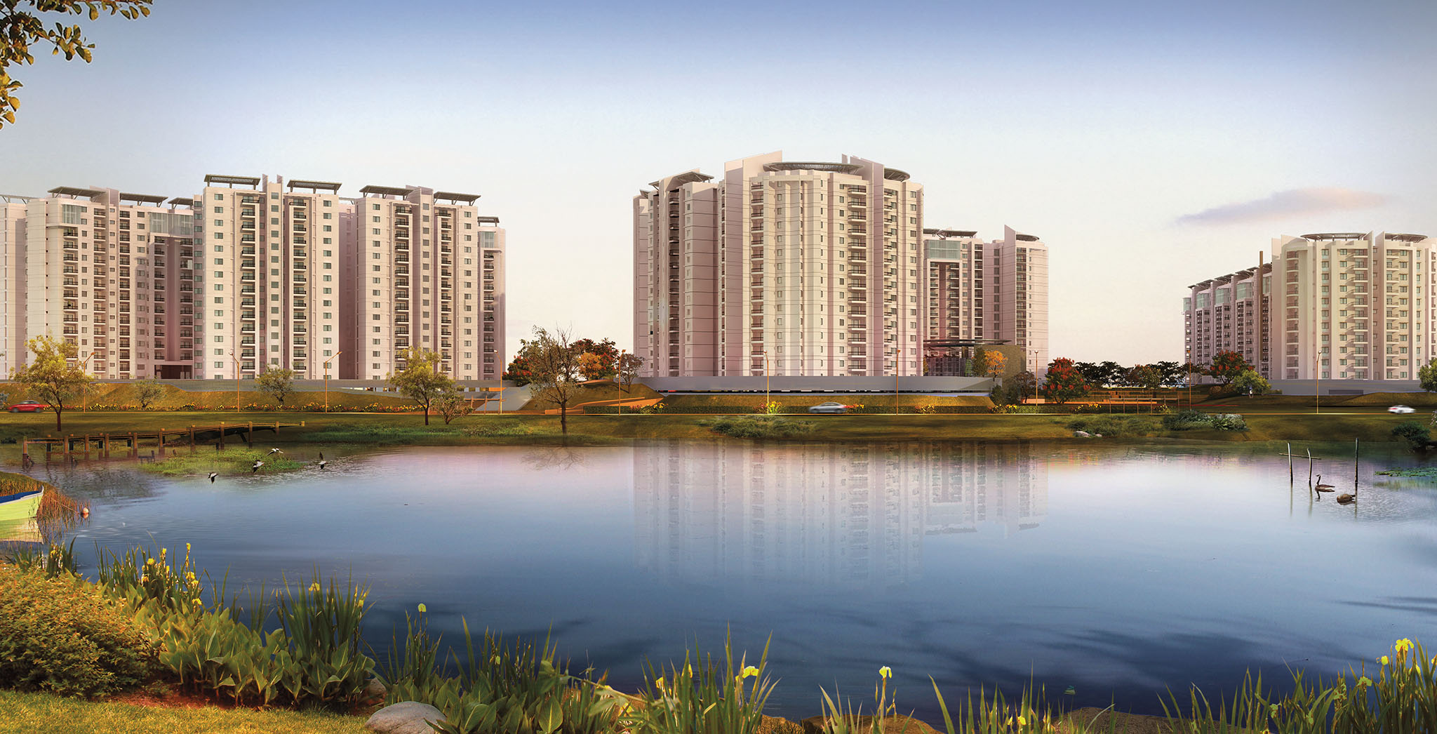 Flats in Whitefield