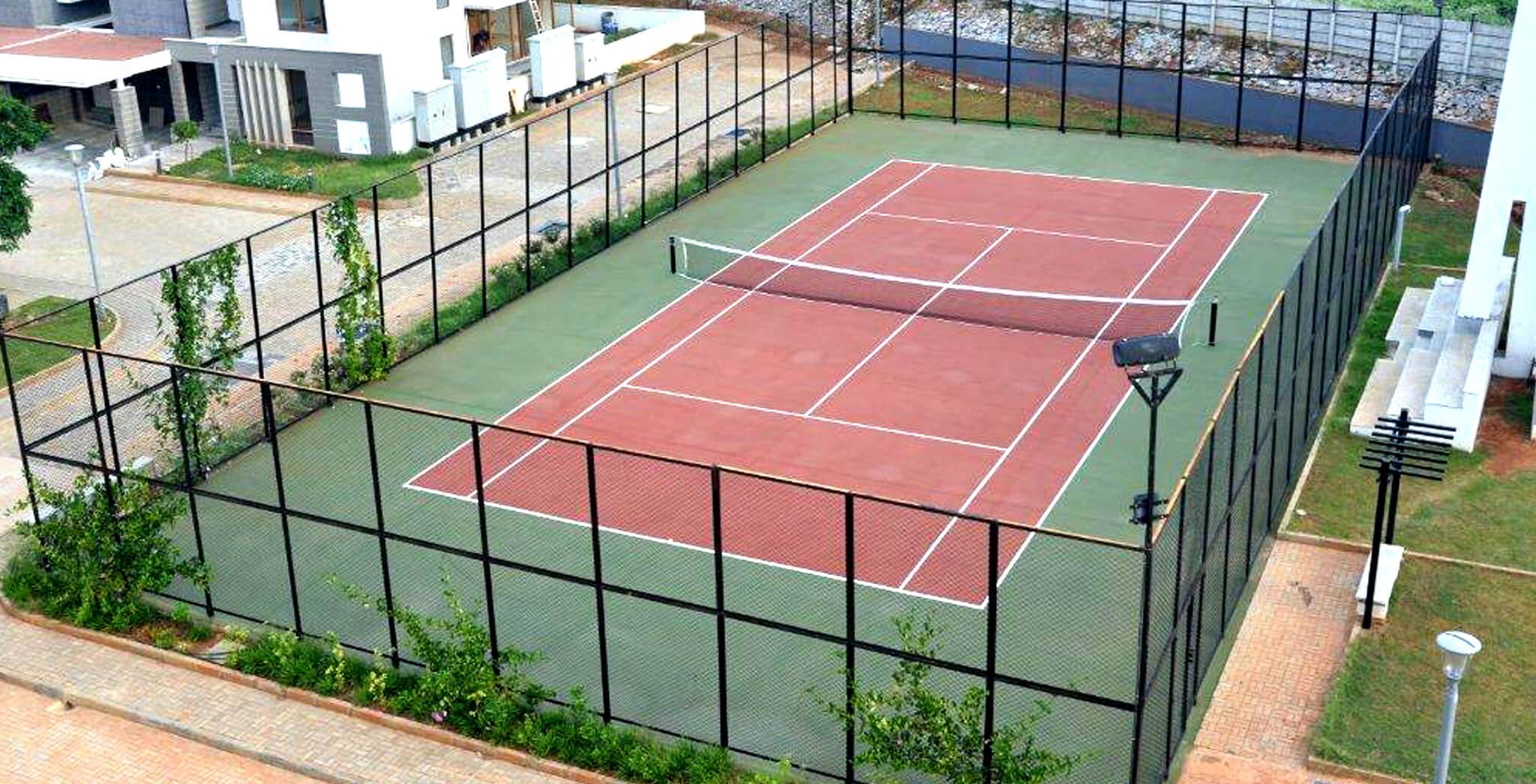 Sep 2017 - Tennis Court