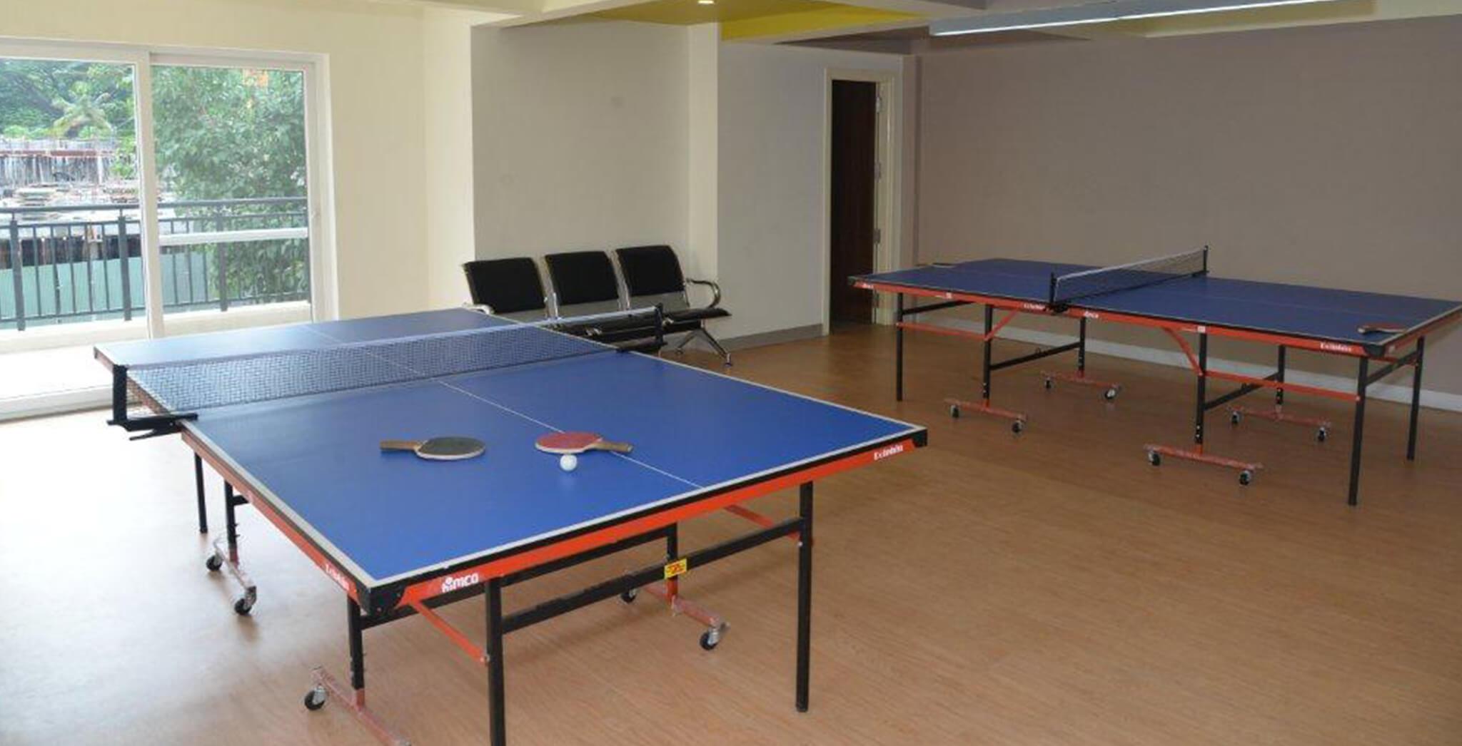 Sep 2017 - Table Tennis Room