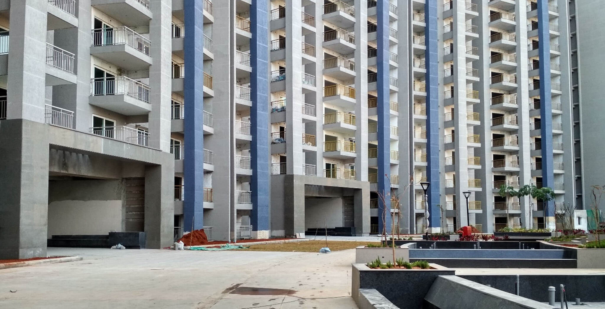 Blue Block—External Development work completed