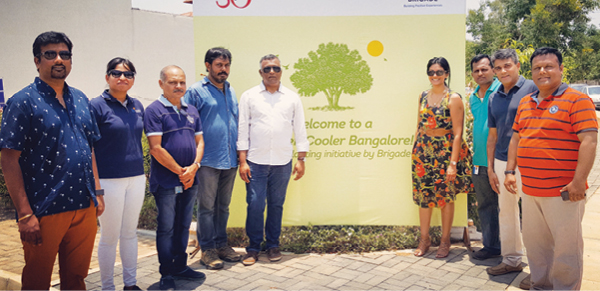 Brigade's efforts to make a cooler, greener Bangalore!