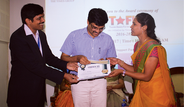 TAFIT award-2016