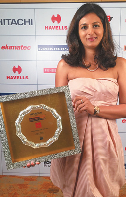 Brigade scores a Hat-trick at the Construction Week India Awards