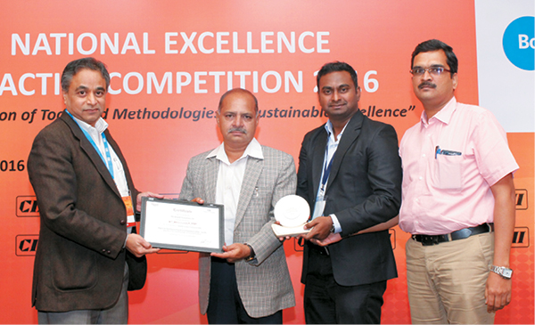 Brigade wins at CII-National Excellence Practice Competition
