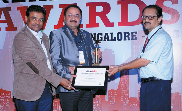 Brigade Exotica wins Best Design Apartment Project of the Year