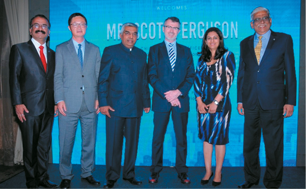 Welcome reception for WTCA CEO at WTC Bangalore