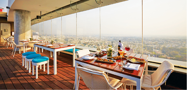 High Ultra Lounge among 8 restaurants in India with spectacular views