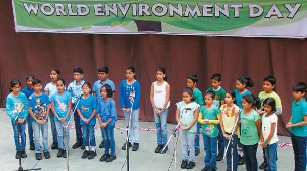 World Environment Day @ J.P. Nagar School