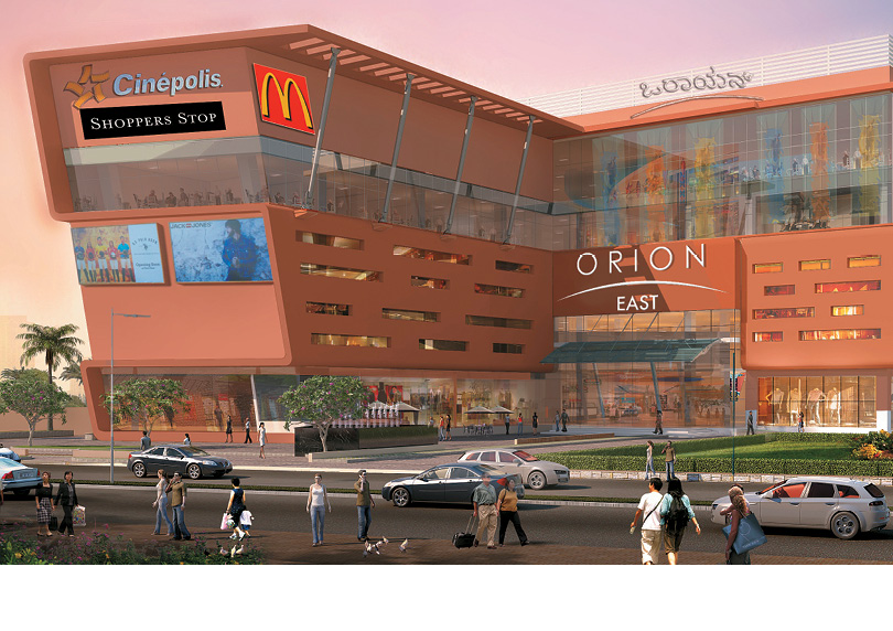 Soft launch of Orion East Mall at Banaswadi
