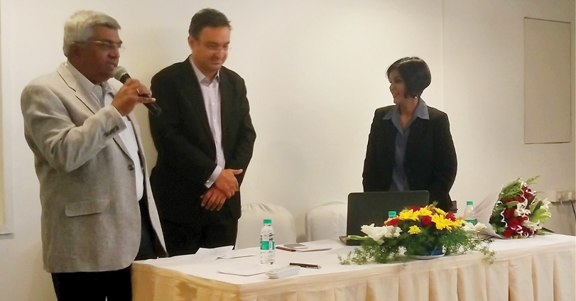 Ms. Manisha Natarajan gets a warm welcome