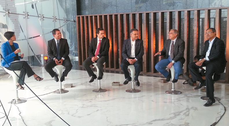 NDTV Property Big Debate at WTC Bangalore