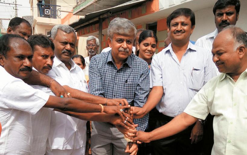 CSR Work at Salhunse Village