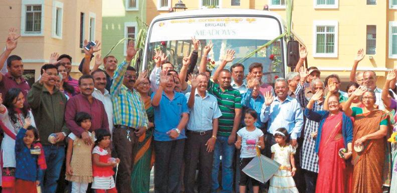 Brigade Meadows launches Shuttle Bus Service