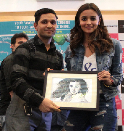 Alia Bhat visits Orion Mall