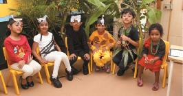 Mind Space Activity Day—J P Nagar School