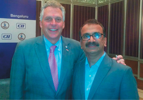 Meeting with Governor Terry McAuliffe