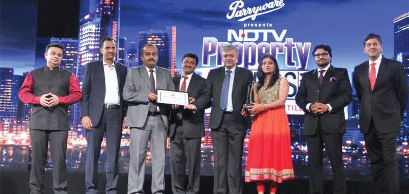 Brigade Meadows wins Award at NDTV Property Awards