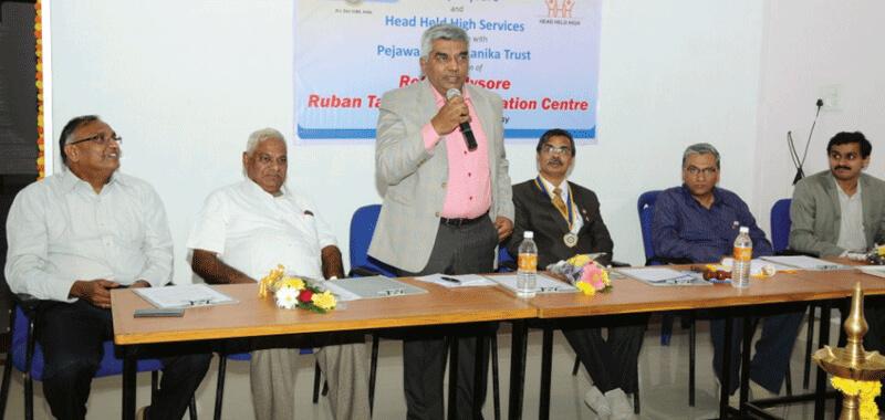 M. R. Jaishankar Addresses Rotarians in Mysore