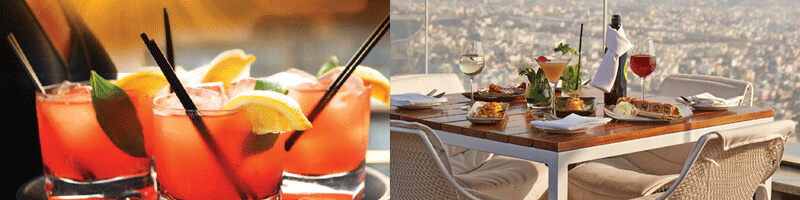 Food, drinks and an altitude of magnificent proportions @ High Ultra Lounge