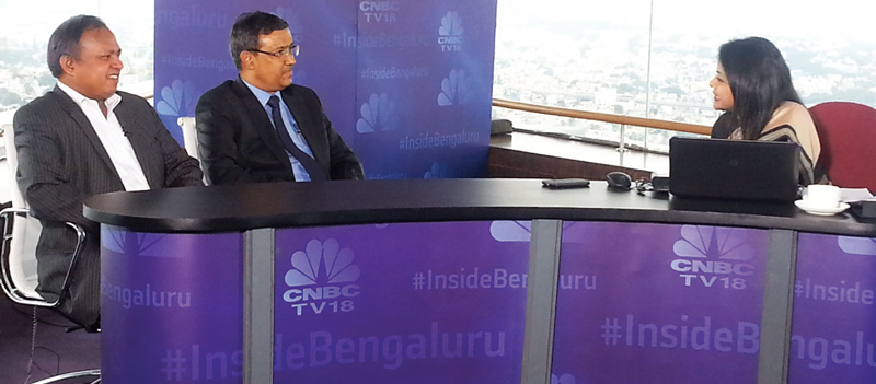 CNBC's Prime show 'Bazaar' live from High Ultra Lounge at WTC