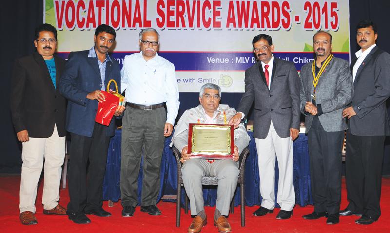 M R Jaishankar receives Significant Achievement Award