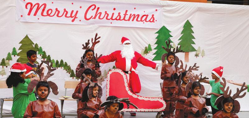 Christmas Celebration @ J. P. Nagar School