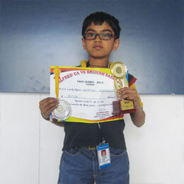 Young Cricket Champion of Malleswaram School