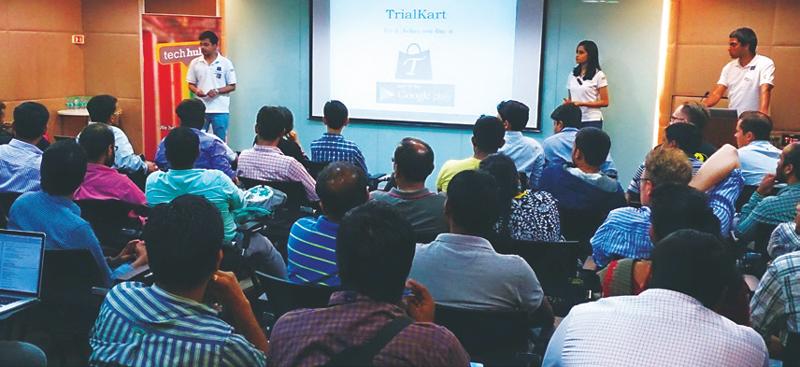 Techhub Tuesday Demo Night organised at WTC Bangalore