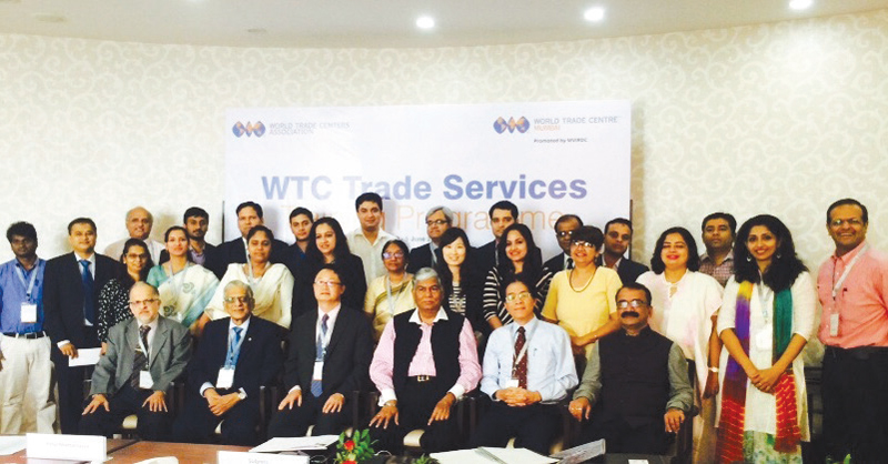 WTC Bangalore participates at the WTCA Training Programme on Trade Services