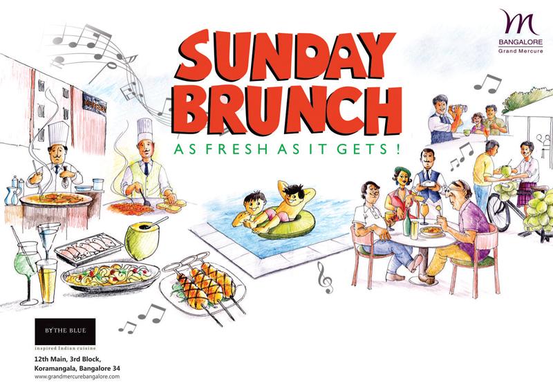 Grand Mercure - Sunday Brunch