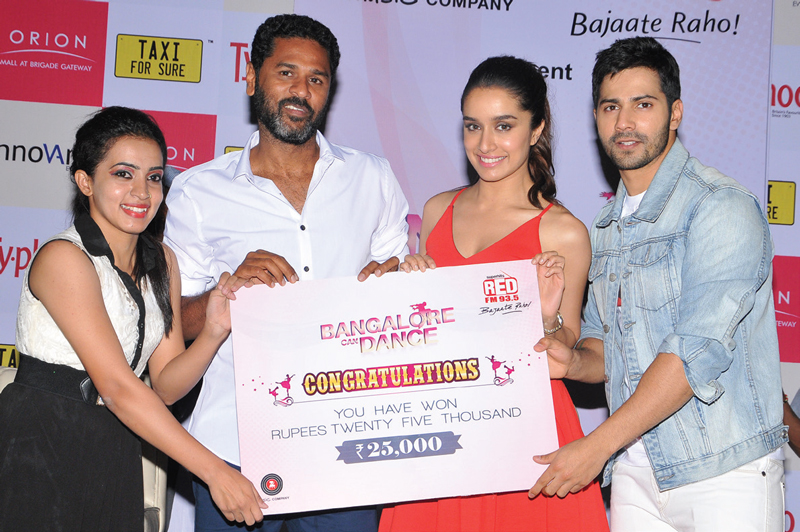 ABCD 2 Movie Promotion