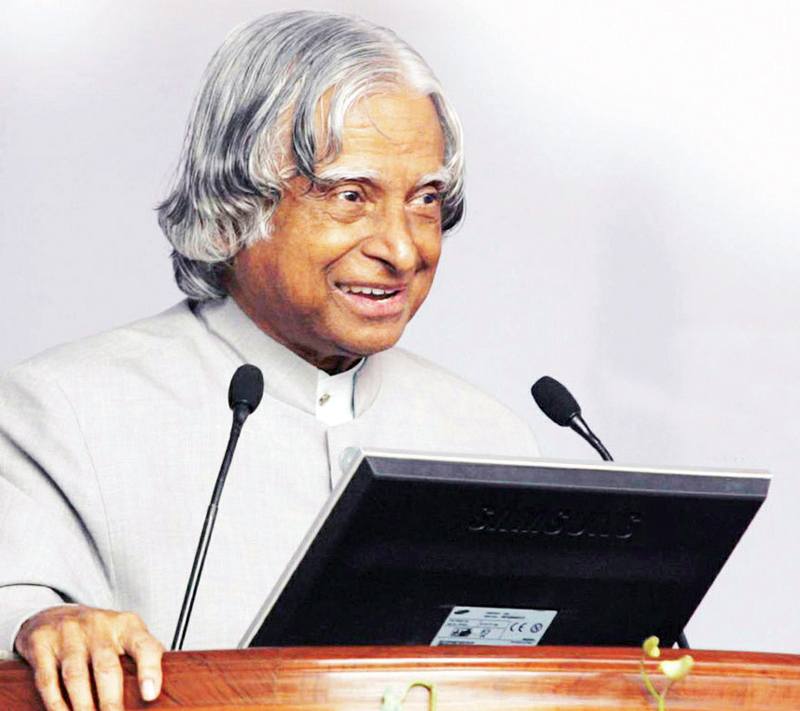 A tribute to 'People's President' A.P.J. Abdul Kalam