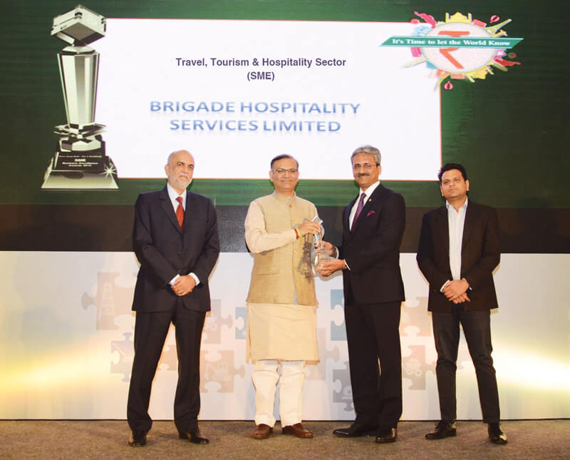 Brigade Hospitality Wins at the SME Business Excellence Awards