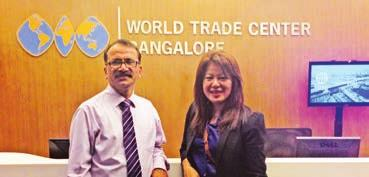 WTC Bangalore to be featured in the TAITRA Magazine of WTC Taipei