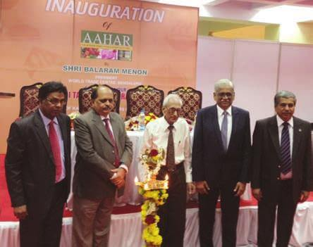Inauguration of the Aahar International Food & Hospitality Fair 2015