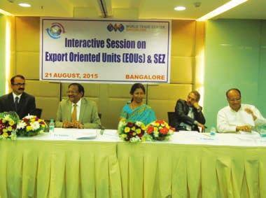 WTC Bangalore organises session on EOUs & SEZs