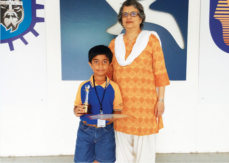 ACHIEVER IN SPELL BEE COMPETITION