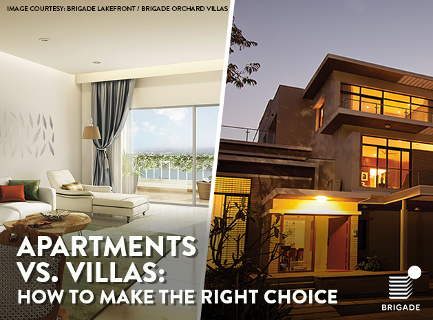 Apartments vs Villas:  How to Make the Right Choice