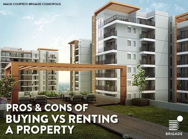 Pros & Cons of buying vs renting a Property