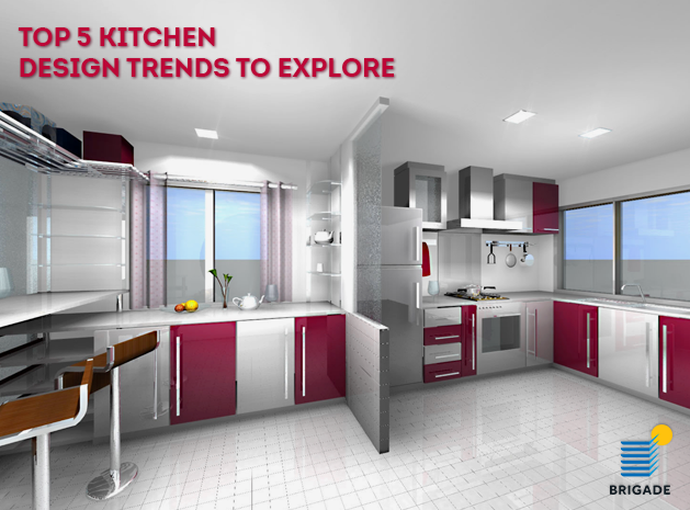 Top 5 kitchen design trends to explore