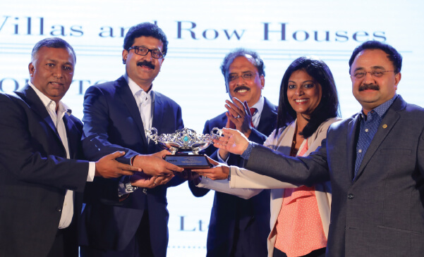 Winning laurels at CREDAI Karnataka's CARE Awards 2017