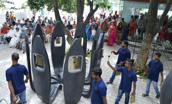 Sound Garden inaugurated at IME