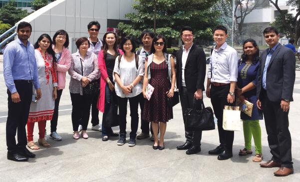 Delegation from Taiwan visits WTC Bengaluru