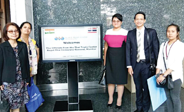 Collaborations with the Thai Trade Center